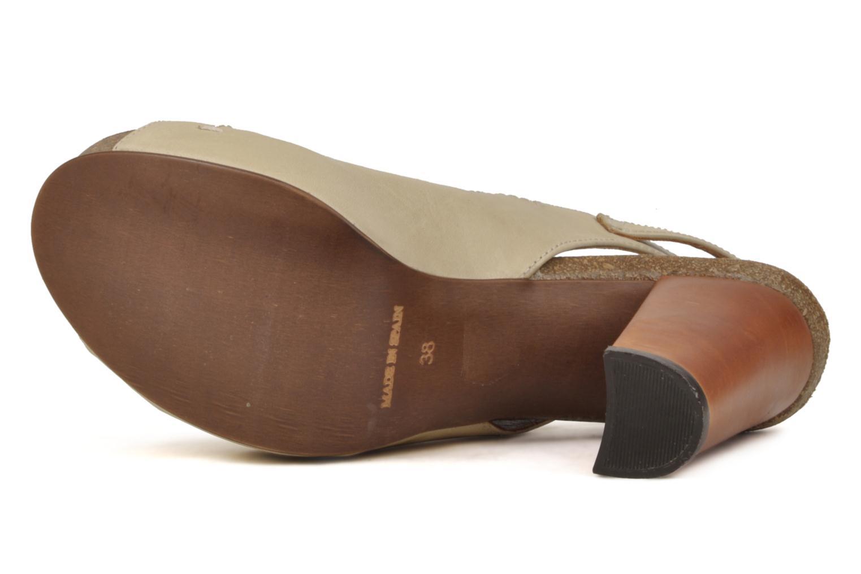 Sandali e scarpe aperte Jeffrey Campbell Tohill Beige immagine dall'alto