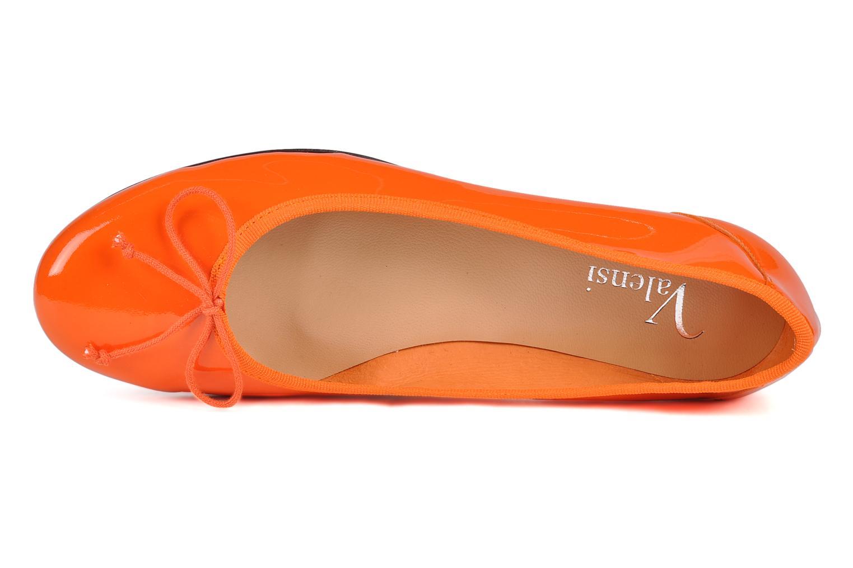 Ballerines Valensi Vega Orange vue gauche