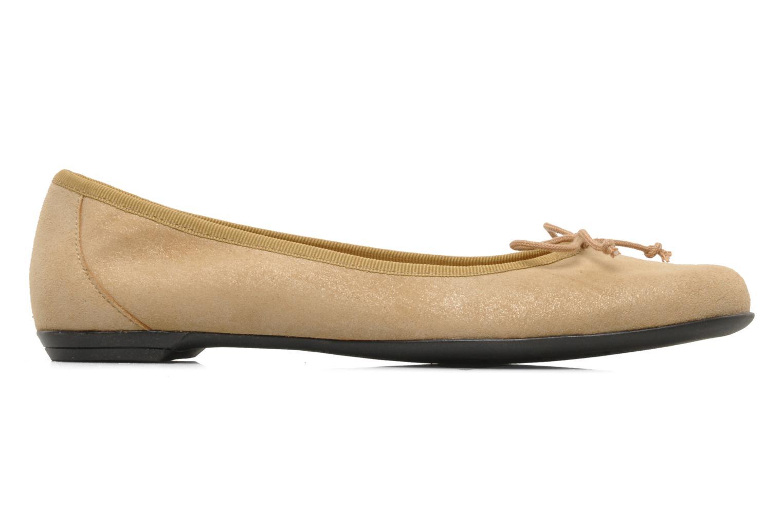 Ballerina's Valensi Vega Beige achterkant