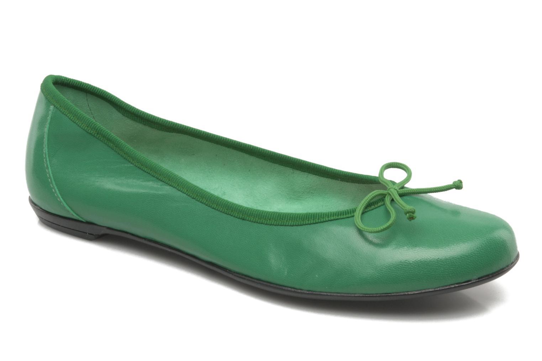 Ballerinas Valensi Vega grün detaillierte ansicht/modell