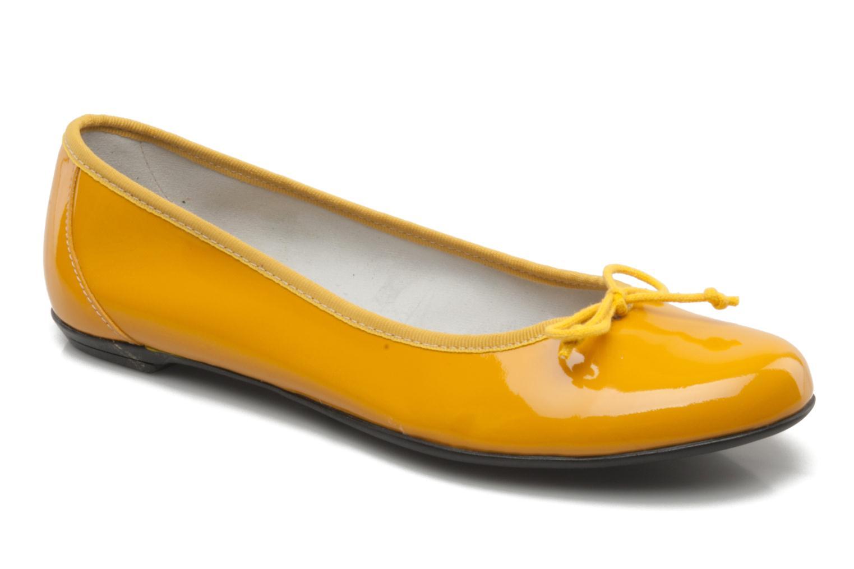 Ballerinas Valensi Vega gelb detaillierte ansicht/modell
