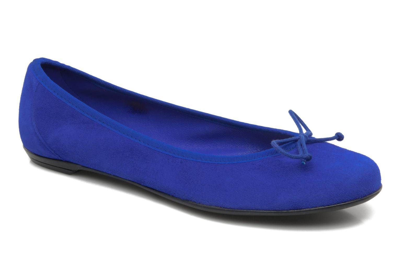Ballerinas Valensi Vega blau detaillierte ansicht/modell
