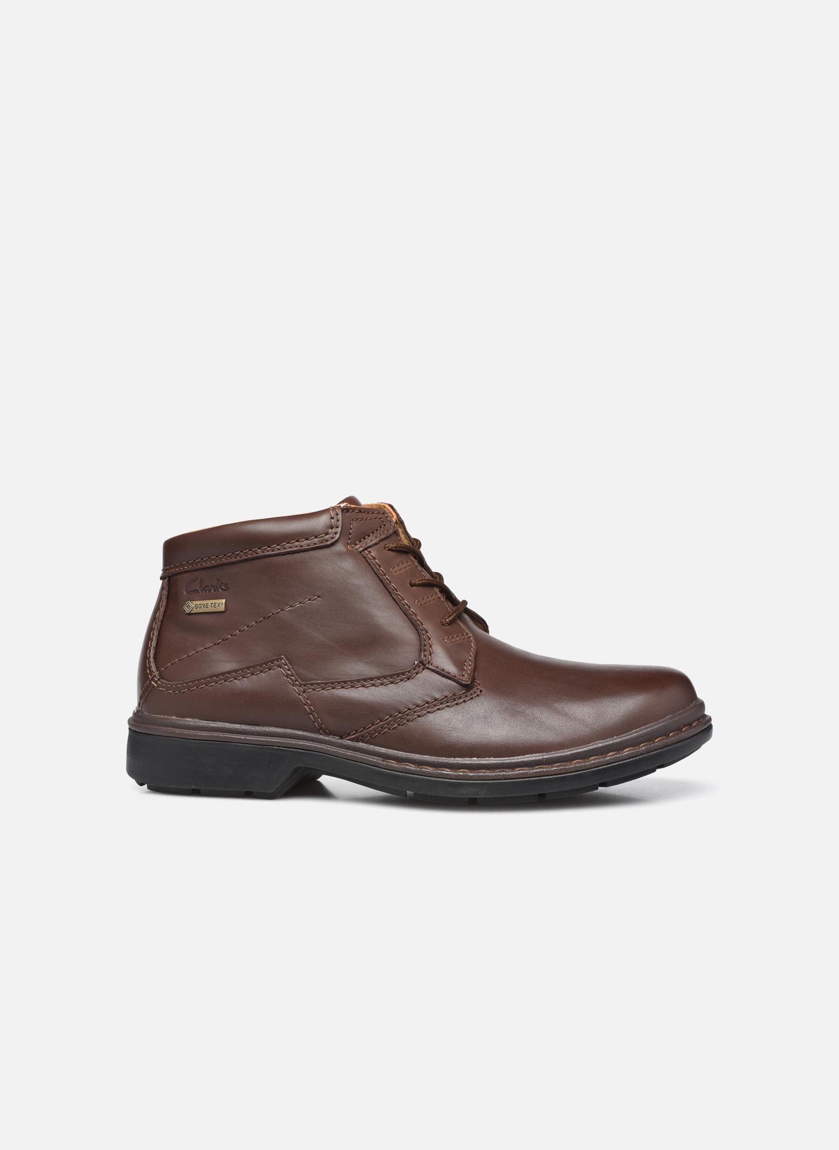 Chaussures à lacets Clarks Rockie Hi Gtx Marron vue derrière