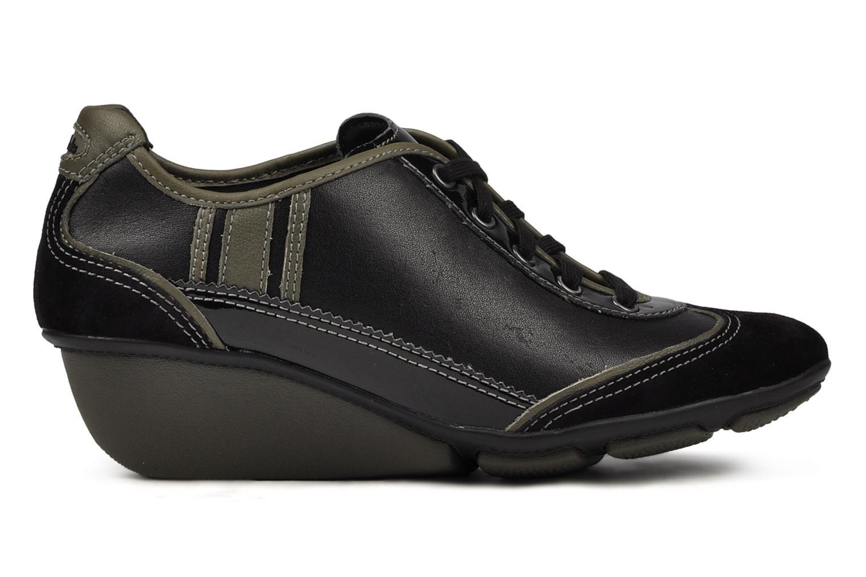 Sneakers Clarks Hustle Bustle Zwart achterkant