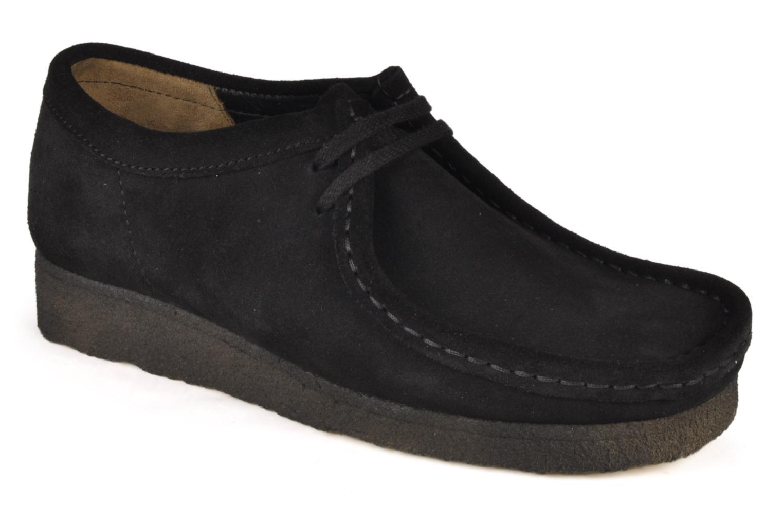 c72febc85c620 Grandes descuentos últimos zapatos Clarks Originals Wallabee F (Negro) -  Zapatos con cordones Descuento