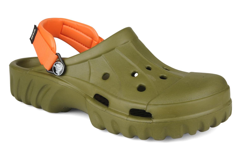 Sandales et nu-pieds Crocs Off Road Vert vue détail/paire