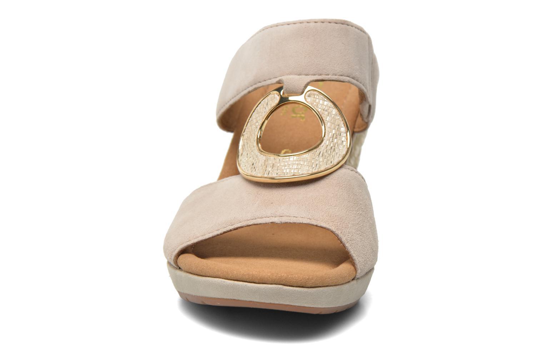 Boots en enkellaarsjes Gabor Gabs Beige model