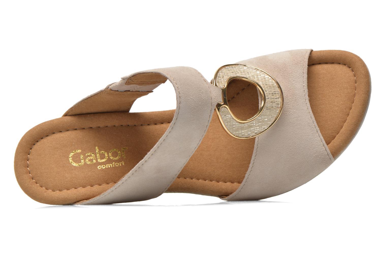 Boots en enkellaarsjes Gabor Gabs Beige links