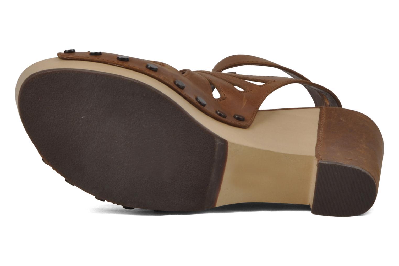 Sandales et nu-pieds Belle Arizona Marron vue haut
