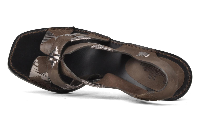 Sandales et nu-pieds Belle Catarina Marron vue gauche