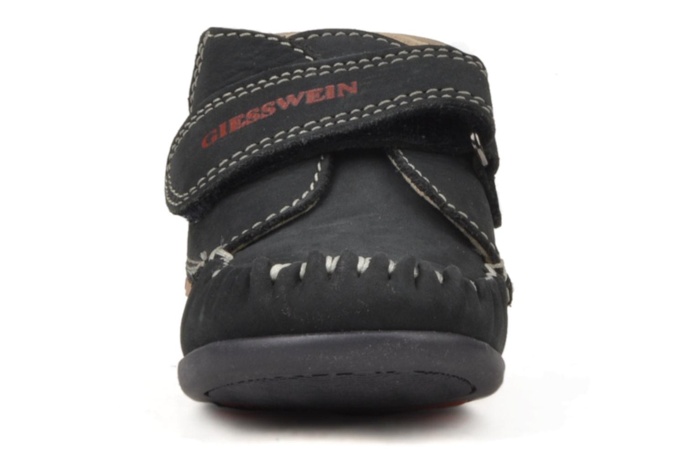 Chaussures à scratch Giesswein Cottbus Bleu vue portées chaussures