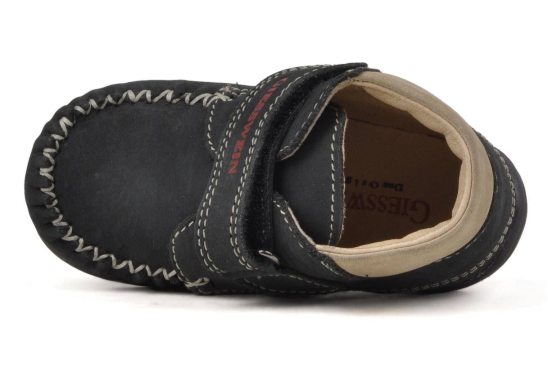 Schoenen met klitteband Giesswein Cottbus Blauw links