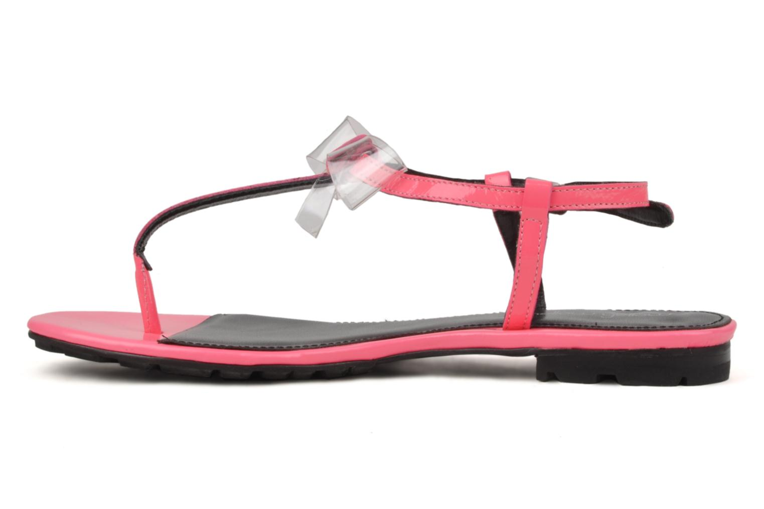 Sandals Mellow Yellow Hektok Pink front view