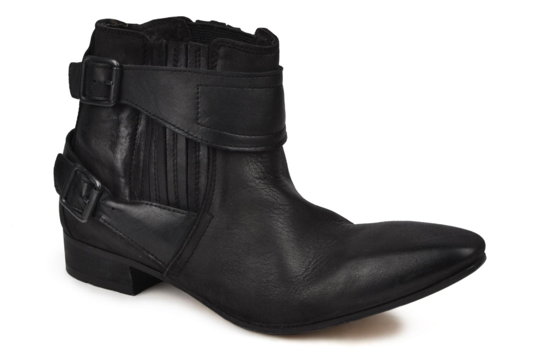 Boots en enkellaarsjes H By Hudson Newob Zwart detail