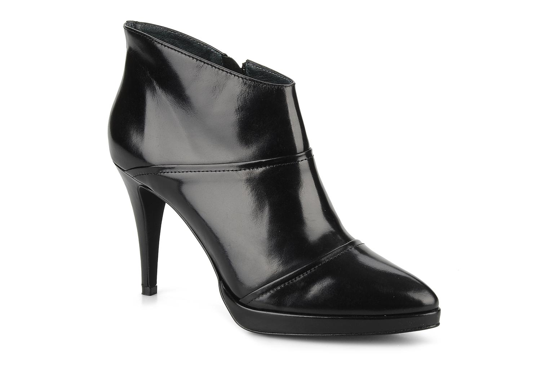 Bottines et boots Georgia Rose Amyla Noir vue détail/paire