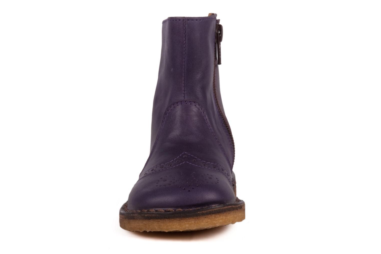 Stiefeletten & Boots PèPè Alberto lila schuhe getragen
