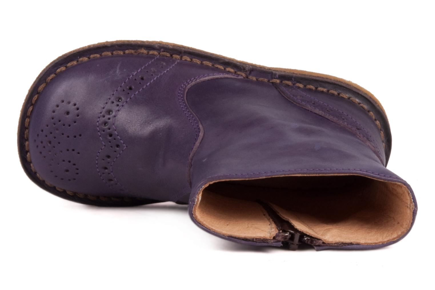 Ankle boots PèPè Alberto Purple view from the left