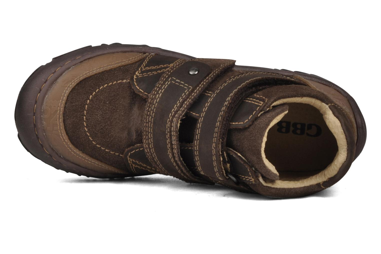Bottines et boots GBB Mickael Marron vue gauche