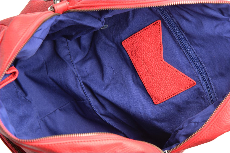 Handtassen Nat & Nin Macy Rood achterkant