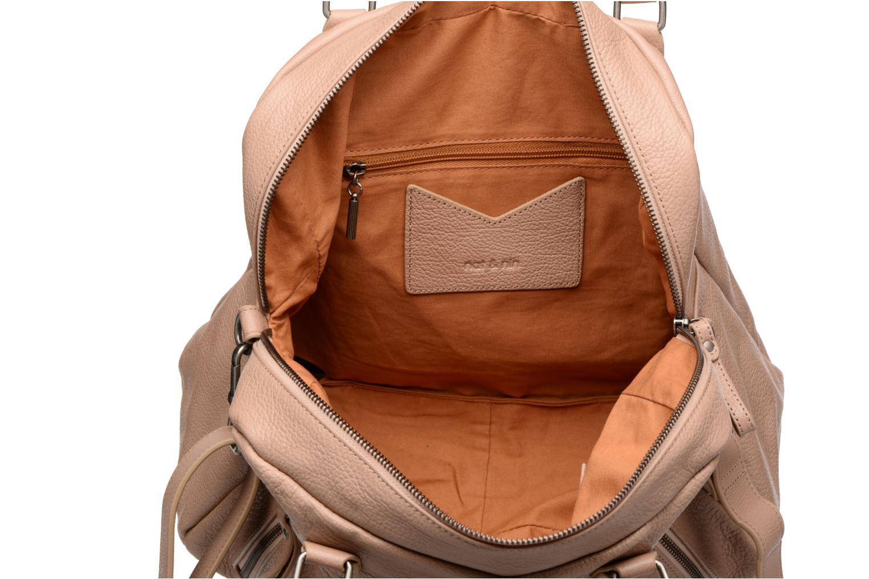 Handtassen Nat & Nin Macy Beige achterkant