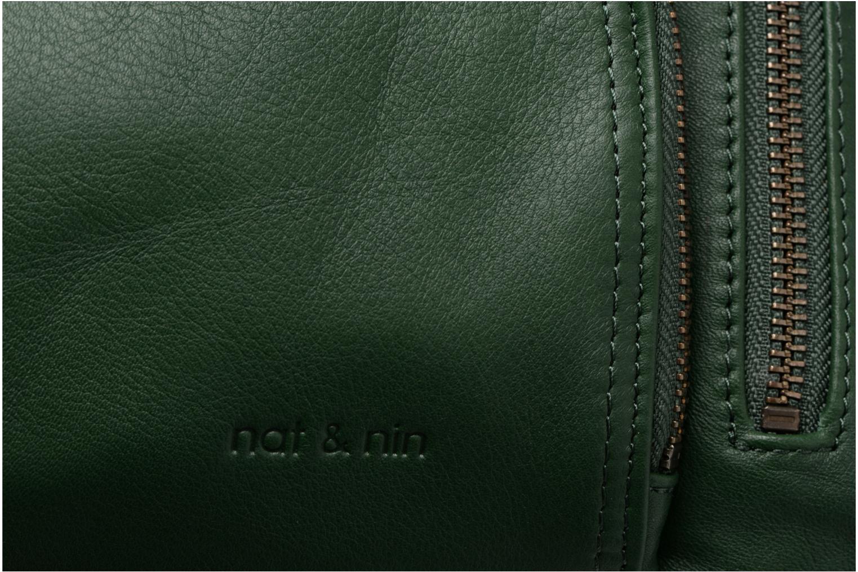 Handtaschen Nat & Nin Macy grün ansicht von links