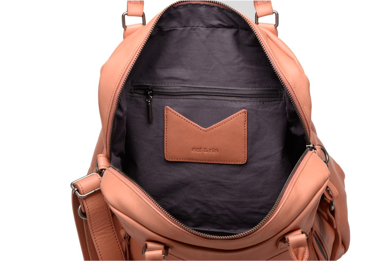 Handtassen Nat & Nin Macy Roze achterkant
