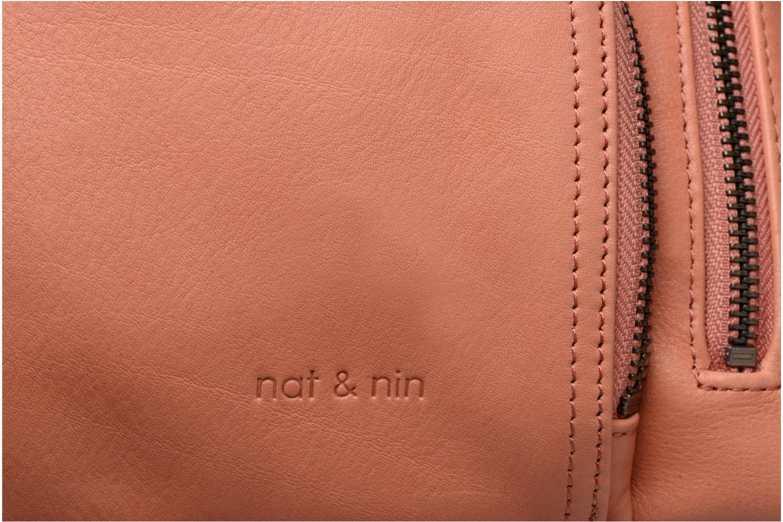 Handtaschen Nat & Nin Macy rosa ansicht von links