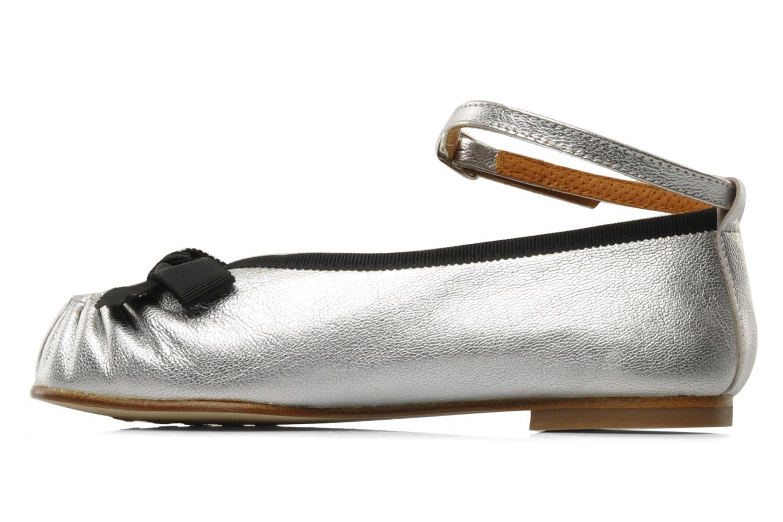 Petite Zoe Ribbon Black/Nappa Mettalic Silver