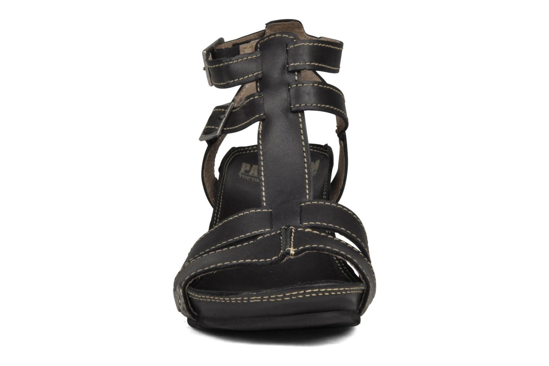 Sandales et nu-pieds Palladium SHEIMA Noir vue portées chaussures