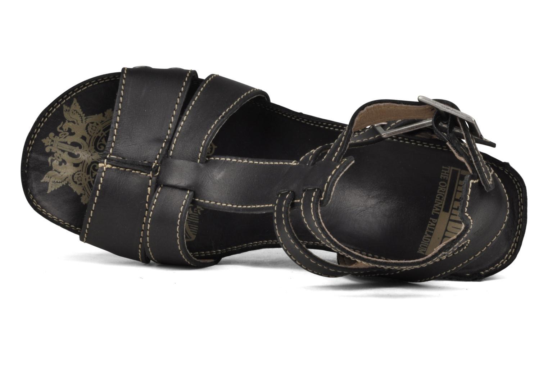 Sandales et nu-pieds Palladium SHEIMA Noir vue gauche