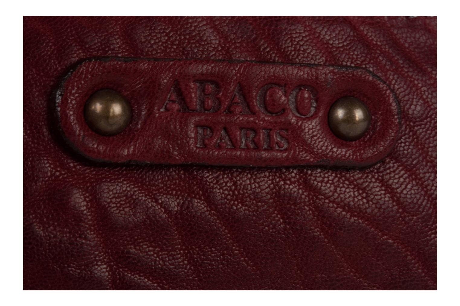 Wallets & cases Abaco Friend Clouté Red view from the left