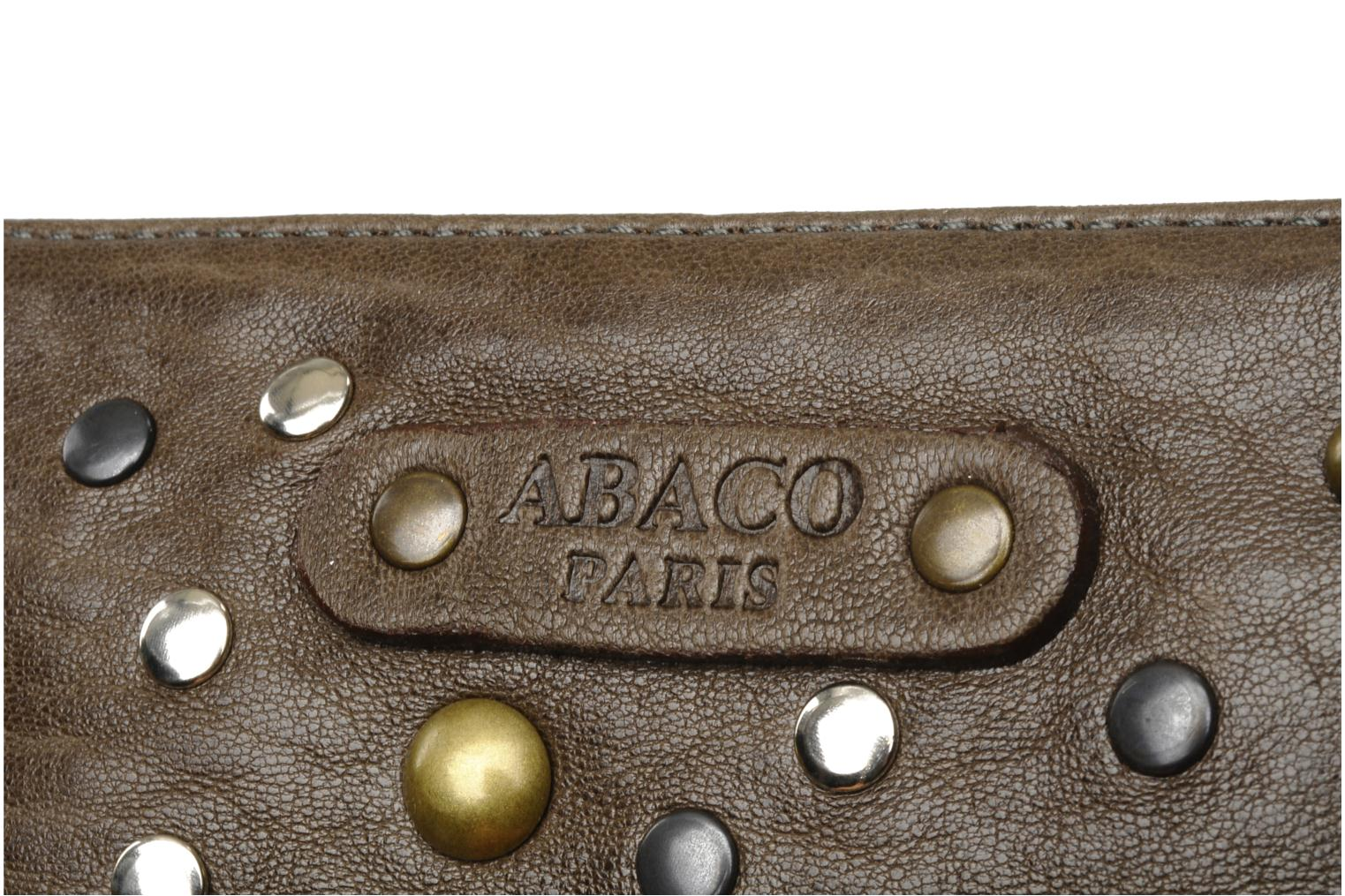 Wallets & cases Abaco Nina Java Clouté Brown view from the left