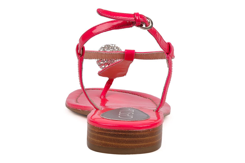 Sandales et nu-pieds C.Petula Marilyn Rose vue droite