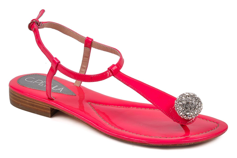 Sandales et nu-pieds C.Petula Marilyn Rose vue détail/paire