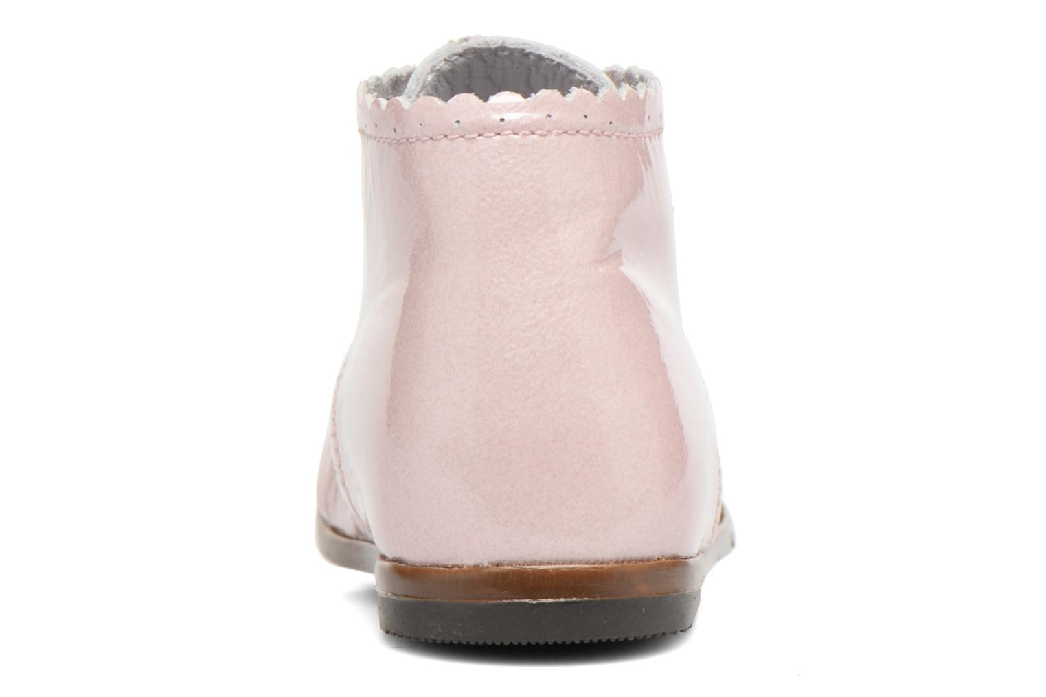Ankle boots Little Mary Vivaldi Pink view from the right