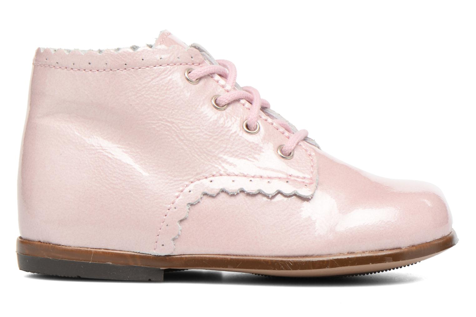 Ankle boots Little Mary Vivaldi Pink back view