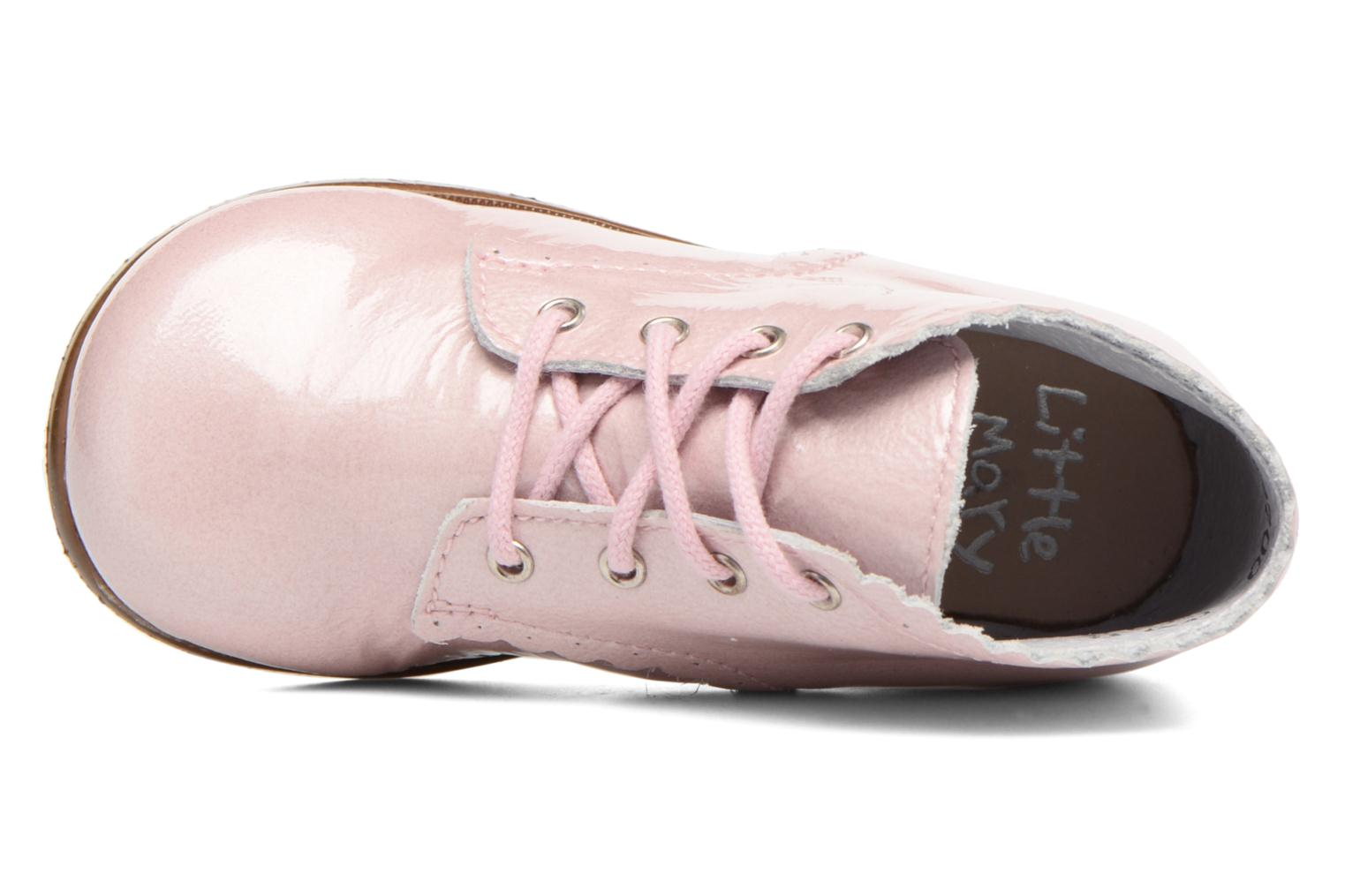 Ankle boots Little Mary Vivaldi Pink view from the left