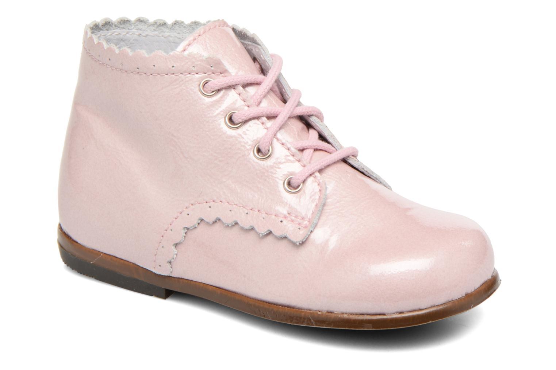 Ankelstøvler Little Mary Vivaldi Pink detaljeret billede af skoene