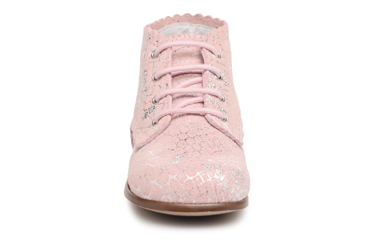 Ankle boots Little Mary Vivaldi Pink model view