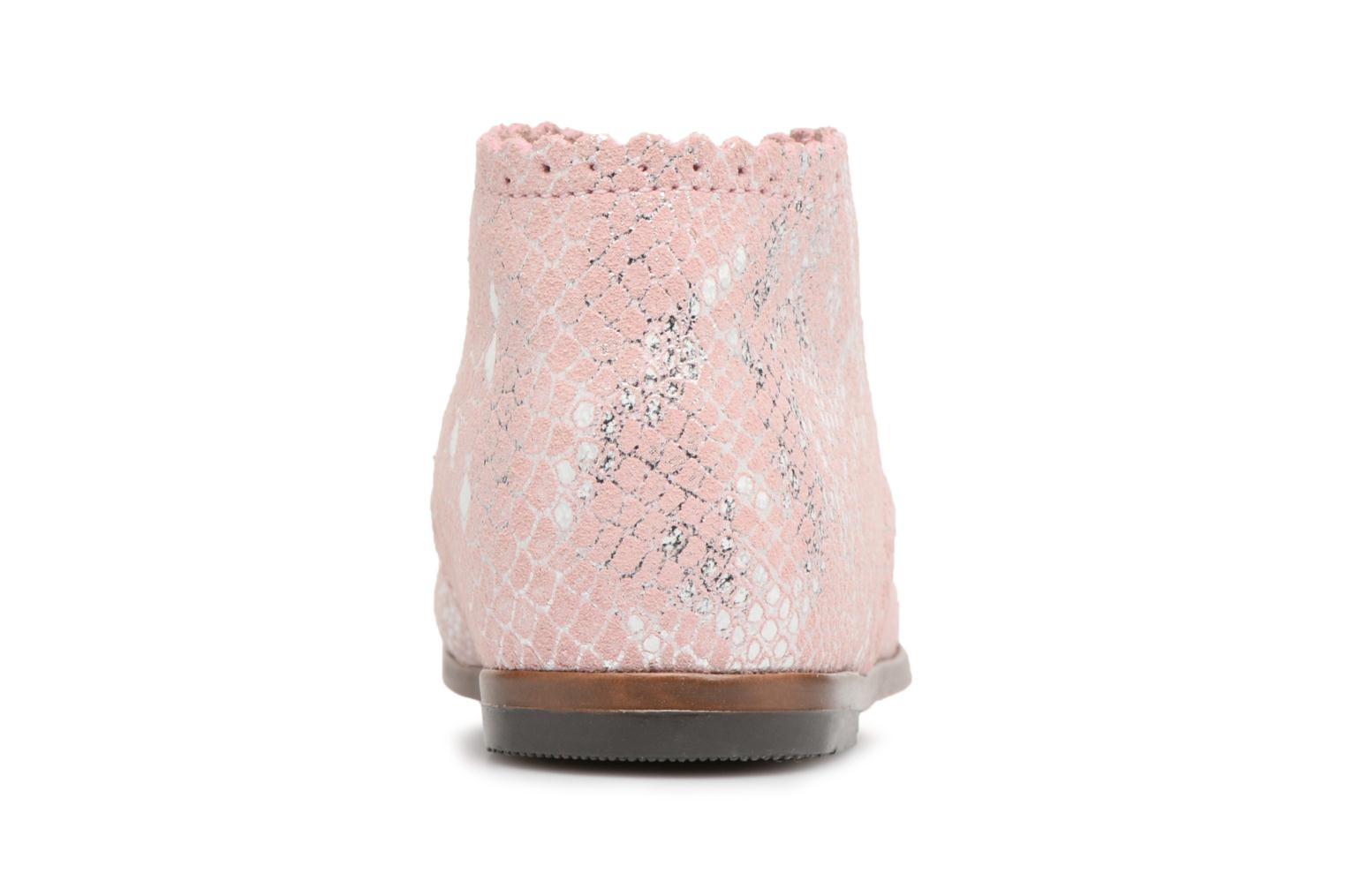 Bottines et boots Little Mary Vivaldi Rose vue droite