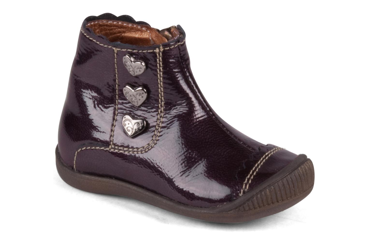 Ankle boots Little Mary Goelette Brown detailed view/ Pair view