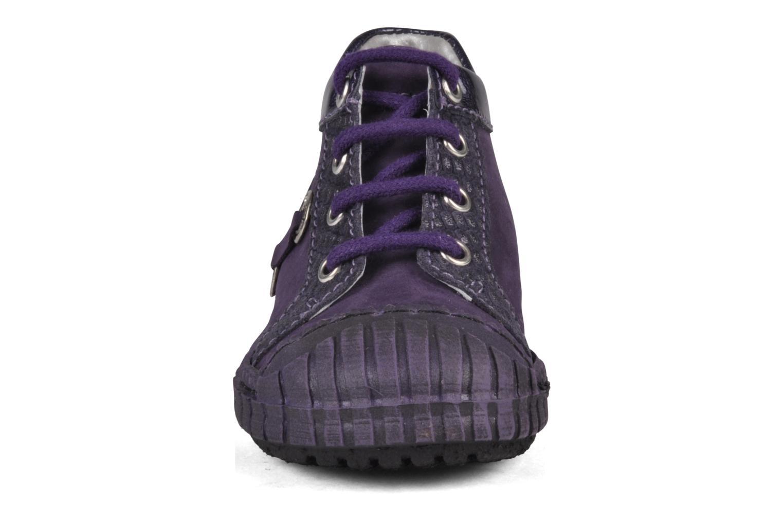 Stiefeletten & Boots Little Mary Gomme lila schuhe getragen