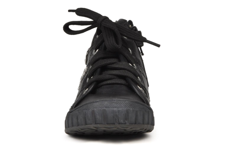 Sneaker Naturino Maude schwarz schuhe getragen
