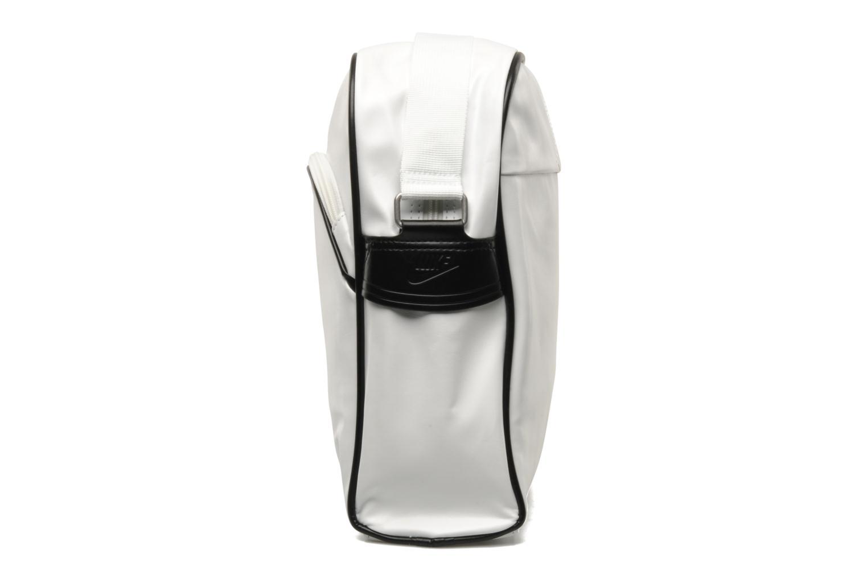 Borse uomo Nike Heritage SI Track Bag Bianco modello indossato