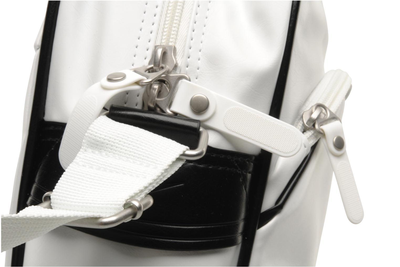 Heritage SI Track Bag White Black Metallic Silver