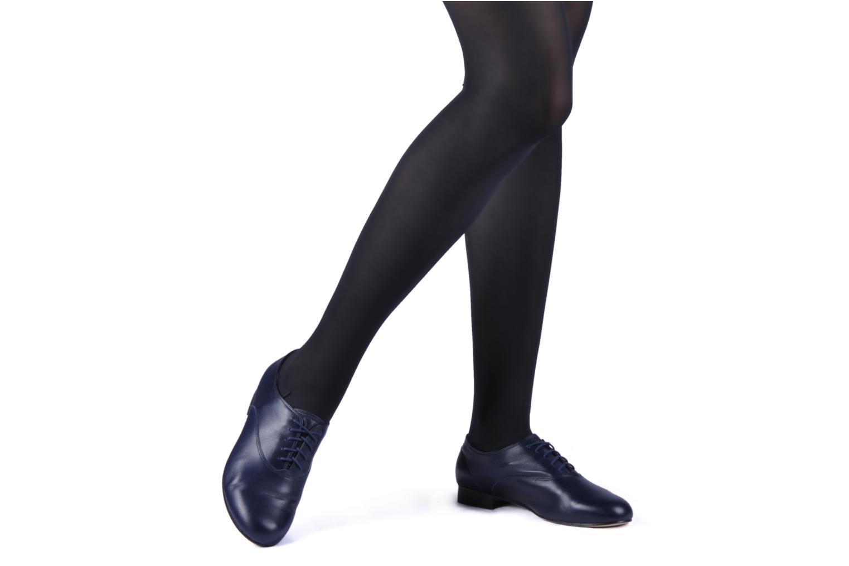 Chaussures à lacets Bloch Astaire Beige vue bas / vue portée sac