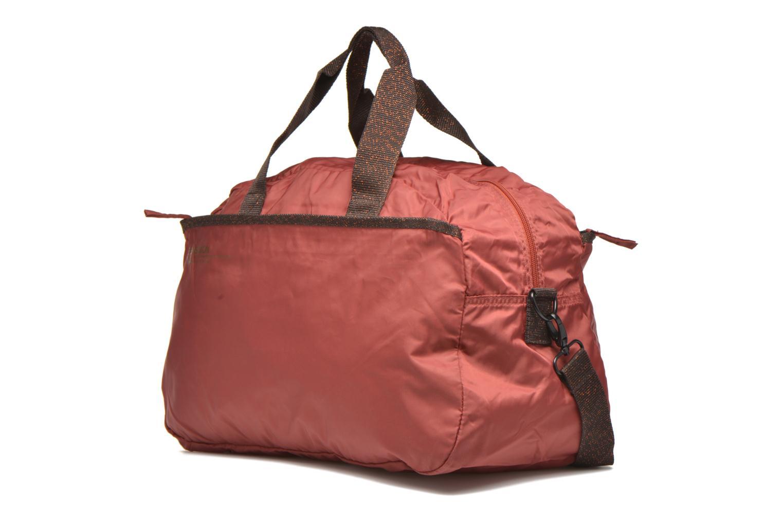 Sacs de sport Bensimon Sport Bag Orange vue portées chaussures