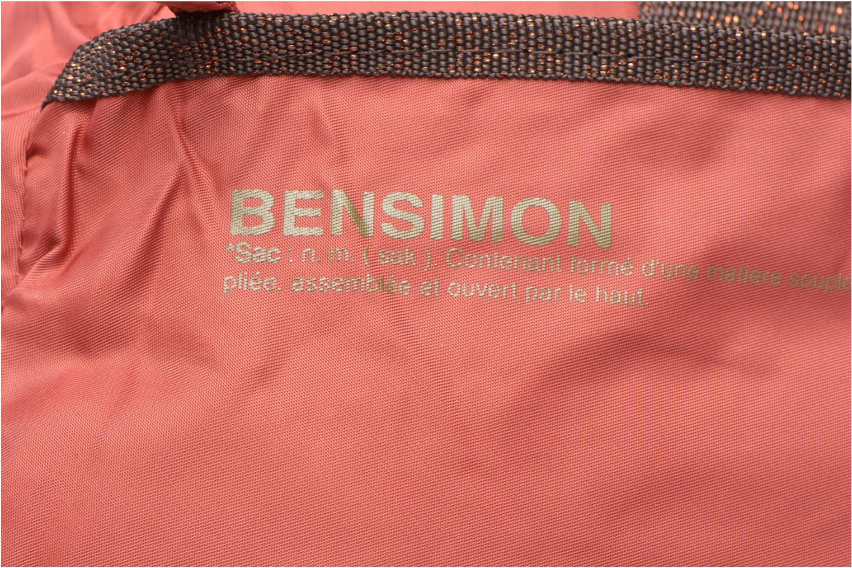 Sacs de sport Bensimon Sport Bag Orange vue gauche