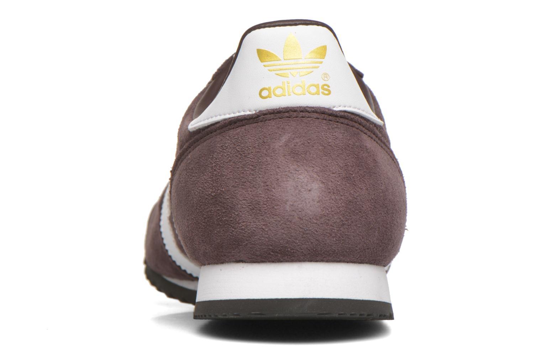 Sneaker Adidas Originals Dragon braun ansicht von rechts