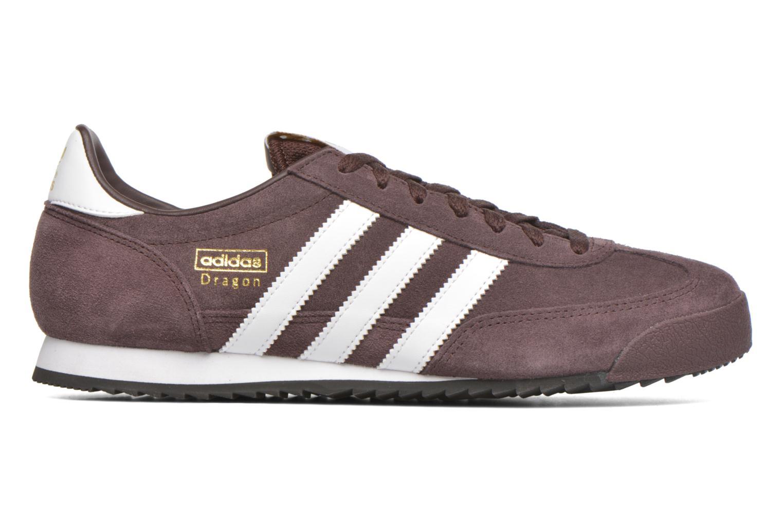 Sneaker Adidas Originals Dragon braun ansicht von hinten